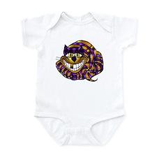 Golden Cheshire Cat Infant Bodysuit