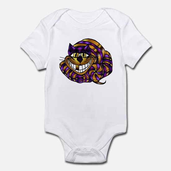 Golden Cheshire Cat Infant Bodysuit