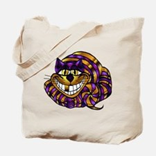 Golden Cheshire Cat Tote Bag
