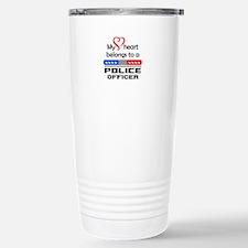 HEART BELONGS TO AN OFFICER Travel Mug