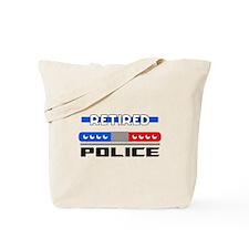 RETIRED POLICE Tote Bag