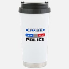 RETIRED POLICE Travel Mug