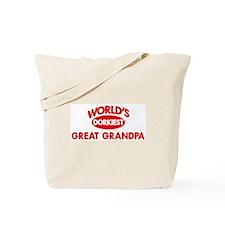 Dorkiest GREAT GRANDPA Tote Bag