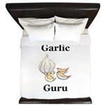 Garlic Guru King Duvet