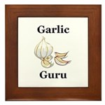 Garlic Guru Framed Tile
