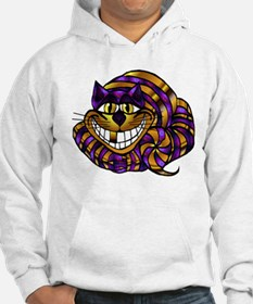 Golden Cheshire Cat Hoodie Sweatshirt