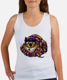 Golden Cheshire Cat Women's Tank Top