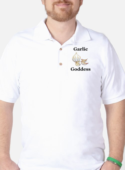 Garlic Goddess Golf Shirt
