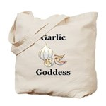 Garlic Goddess Tote Bag