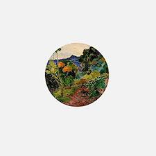 Martinique Landscape Mini Button