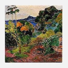Martinique Landscape Tile Coaster