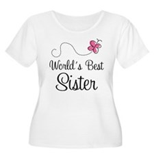 World's Best Sister Plus Size T-Shirt