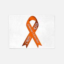 Someone I Love has CRPS RSD Orange 5'x7'Area Rug