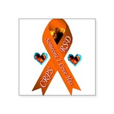 Someone I Love has CRPS -- Orange Ribbon White Te
