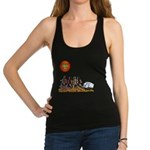 Stop Getting up 2.png Racerback Tank Top