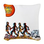 Stop Getting up 2.png Woven Throw Pillow