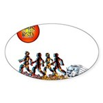 Stop Getting up 2.png Sticker (Oval 10 pk)