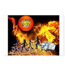 Blazing Sun CRPS RSD Stop Getting up Postcards (Pa