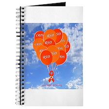 Blue Sky CRPS/RSD Balloons Hope Over Pain Journal