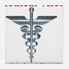 Multipe Allergies Medical Alert.png Tile Coaster
