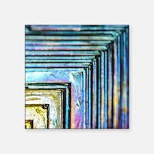 """Bismuth Square Sticker 3"""" x 3"""""""