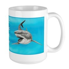 Great White Sharks ~ Time For Tea? ~ Large Mugs
