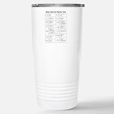 Unique Physics Thermos Mug
