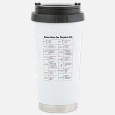 Cute Teacher testing Travel Mug