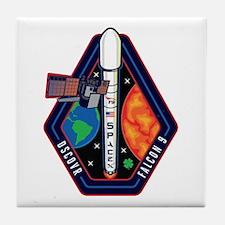 DSCOVR Launch Logo Tile Coaster