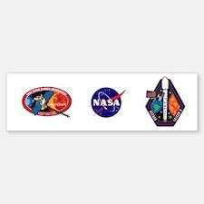 DSCOVR Launch Logo Bumper Bumper Sticker
