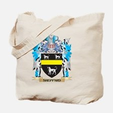 Sheppard Coat of Arms - Family Crest Tote Bag