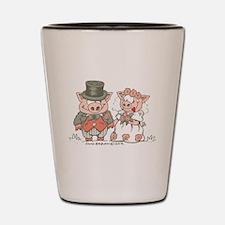 Wedding Pigs Shot Glass
