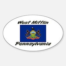 West Mifflin Pennsylvania Oval Decal