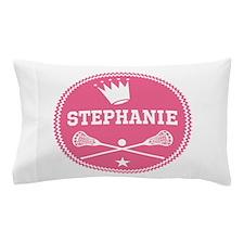 Lacrosse Princess Personalized Pillow Case