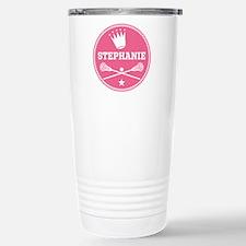 Lacrosse Princess Personalized Travel Mug