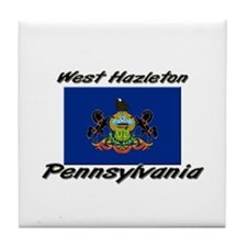 West Hazleton Pennsylvania Tile Coaster