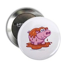 """Pig in Mud 2.25"""" Button"""