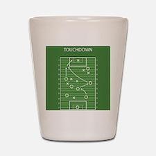 Football field Shot Glass