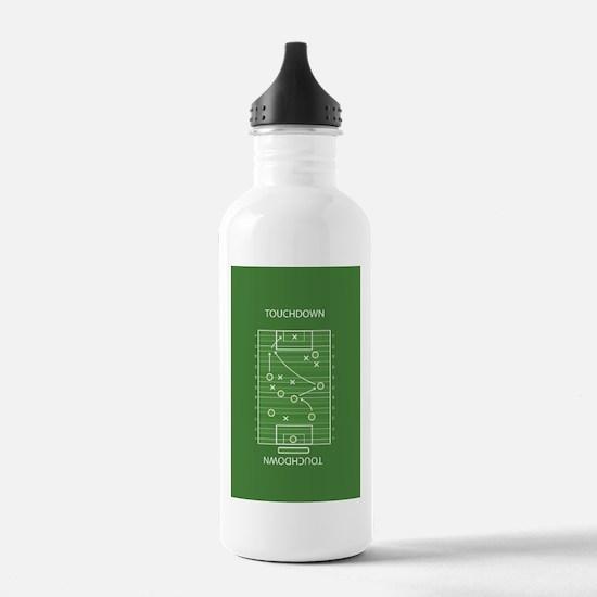 Football field Water Bottle