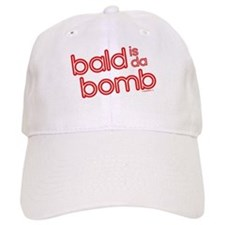 bald is da bomb Baseball Baseball Cap