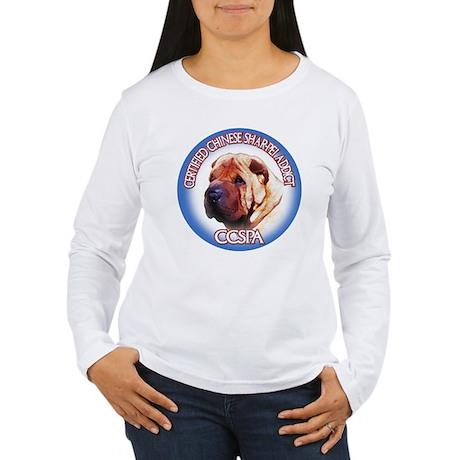 Shar pei Addict Women's Long Sleeve T-Shirt