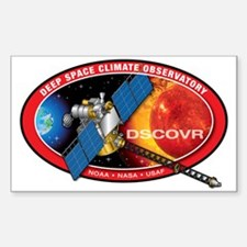 Deep Space Climate Obs. Sticker (Rectangle)