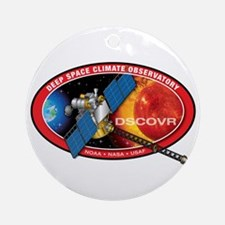 Deep Space Climate Obs. Ornament (Round)