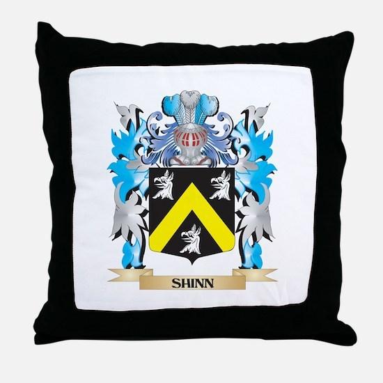 Shinn Coat of Arms - Family Crest Throw Pillow