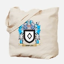 Shipley Coat of Arms - Family Crest Tote Bag
