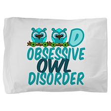 Pretty Owl Pillow Sham
