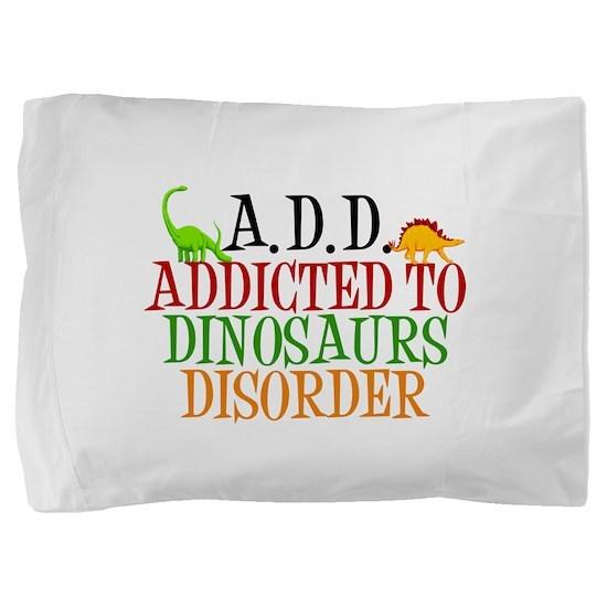 Funny Dinosaur Pillow Sham