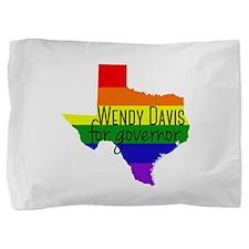 Wendy Davis Rainbow Pillow Sham