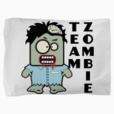 Team Zombie Pillow Sham