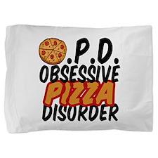 Funny Pizza Pillow Sham